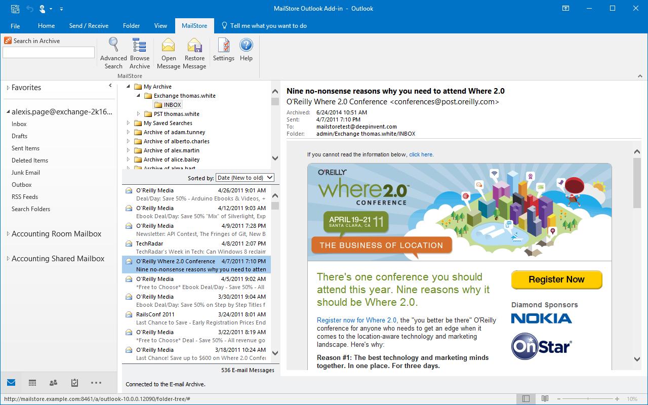 Wyszukiwanie w MS Outlook